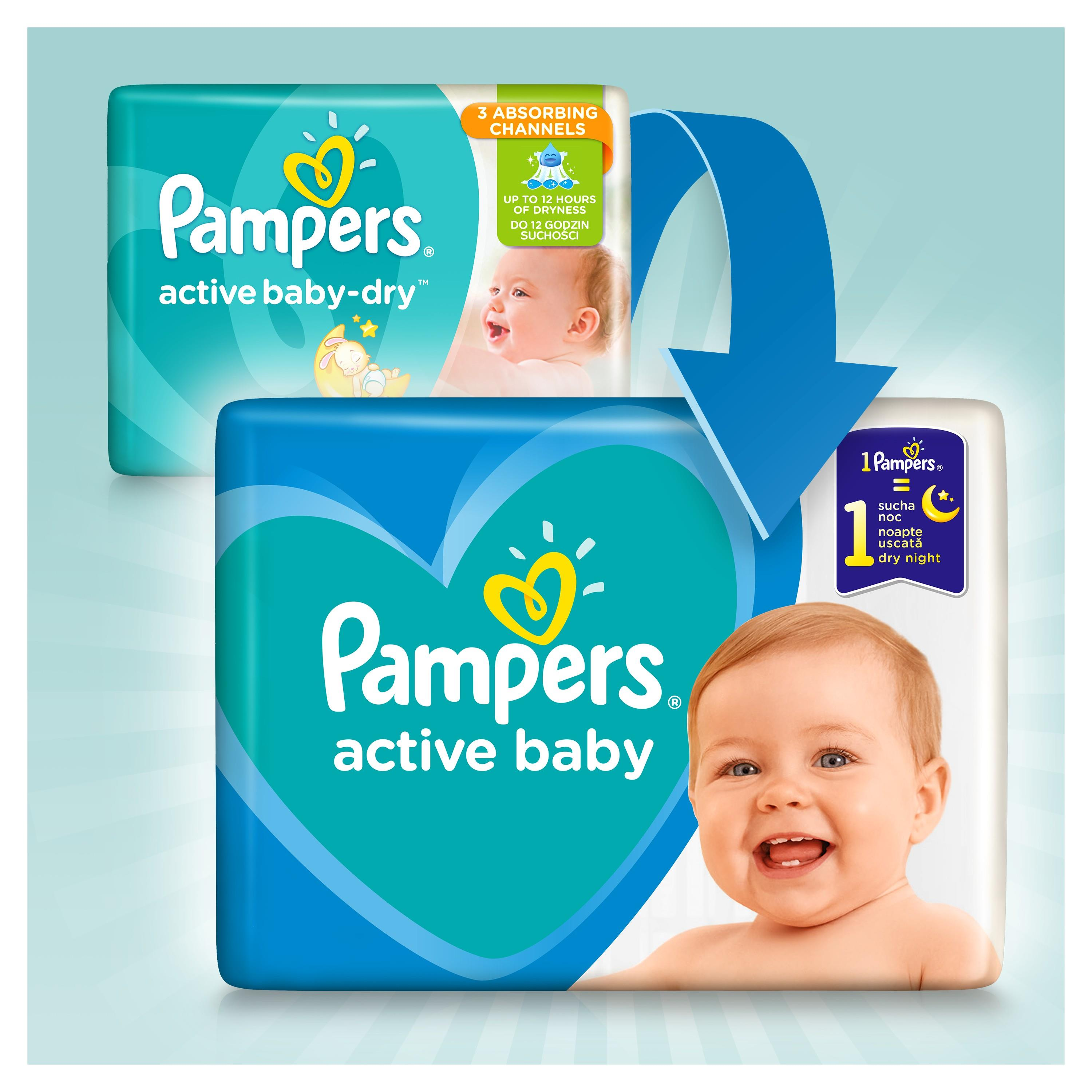 Pampers Active Baby Dry Monthly Pack size 7 112szt