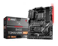 MSI B450 TOMAHAWK MAX (AM4; 4x DDR4 DIMM; ATX; CrossFire) pamatplate, mātesplate