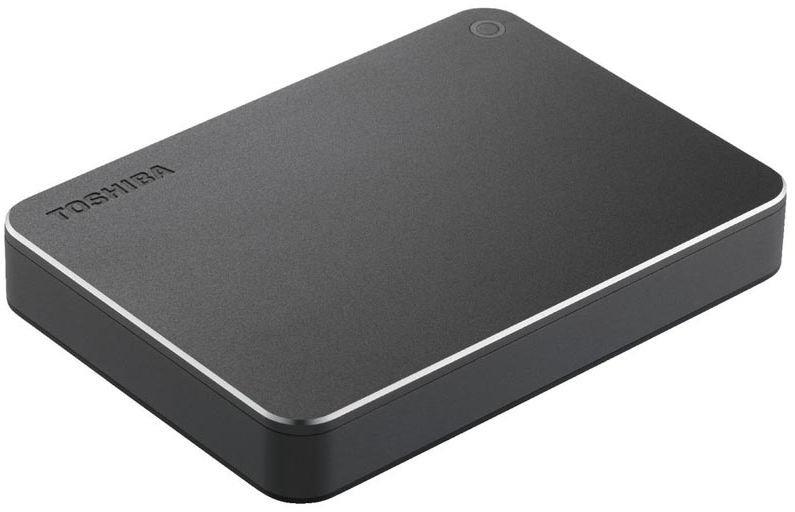Toshiba 3TB USB3.0 Canvio Premium dark grey Ārējais cietais disks