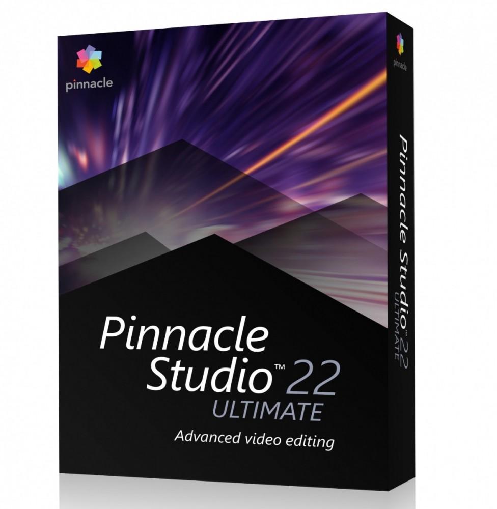 Pinnacle Studio 22 Ult PL/ML Box PNST22ULMLEU