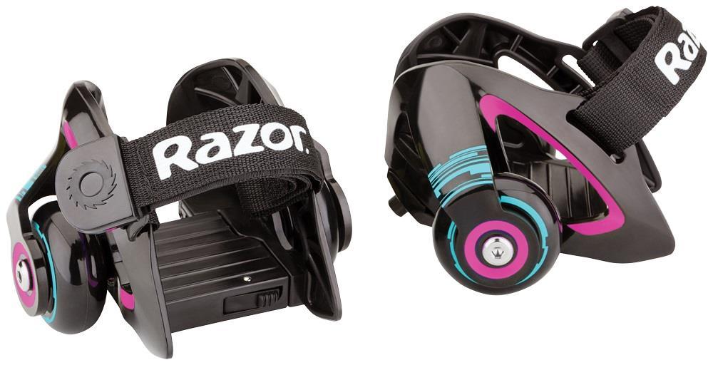 Razor Jetts Heel Wheels - Purple Elektriskie skuteri un līdzsvara dēļi