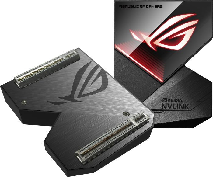 Graphics Card ROG GeForce RTX NVLink with Aura Sync RGB video karte