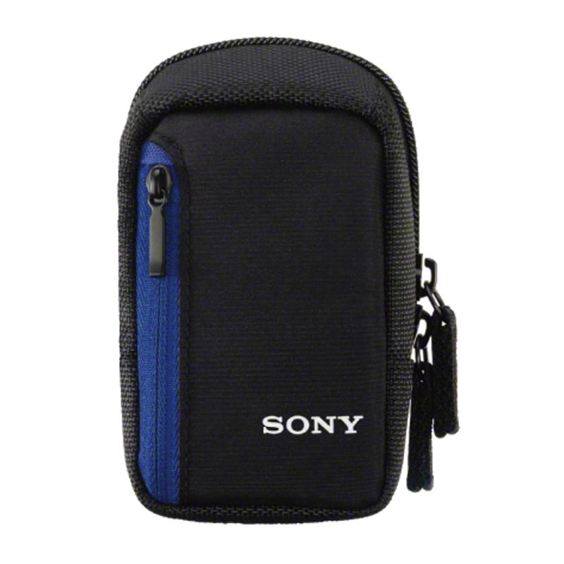 Sony LCS-CS2 CARRY CASE Black/Blue, Belt, 75 x 42 x 125 mm, soma foto, video aksesuāriem