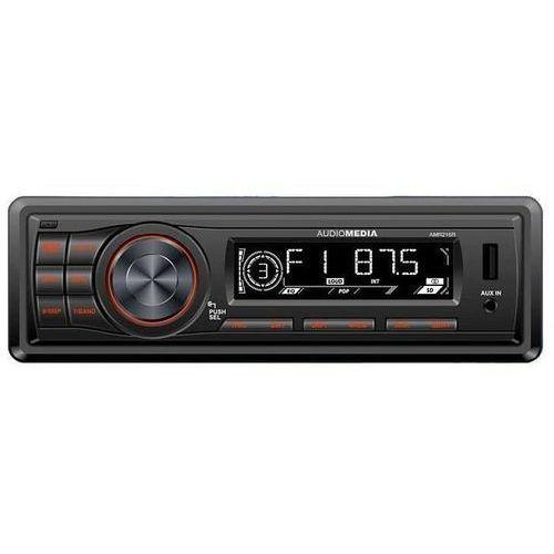 Audiomedia AMR215R, SD USB FM 4x20W, removable panel (red backlight) magnetola