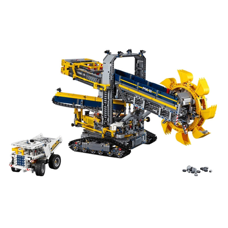 LEGO Technic Bucket Wheel Excavator V29  42055 LEGO konstruktors