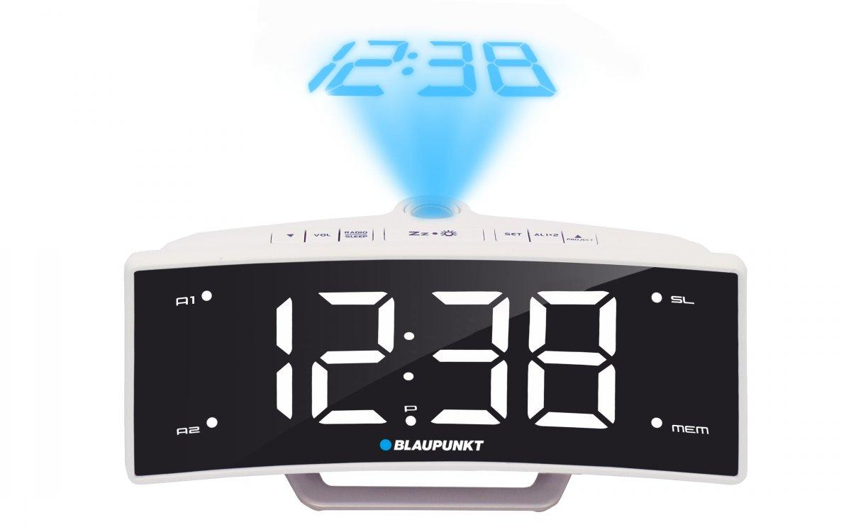 Blaupunkt CRP7WH, FM PLL, projector, USB charging magnetola