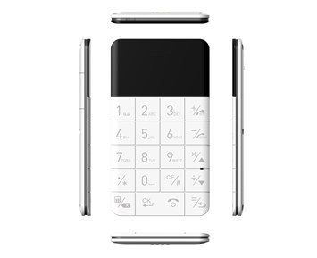 Elari CardPhone White Mobilais Telefons