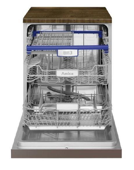 ZZM647E Amica           Dishwasher Iebūvējamā Trauku mazgājamā mašīna