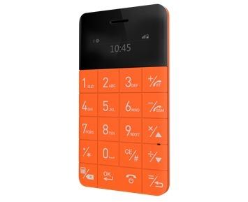 Elari CardPhone Orange aksesuārs mobilajiem telefoniem