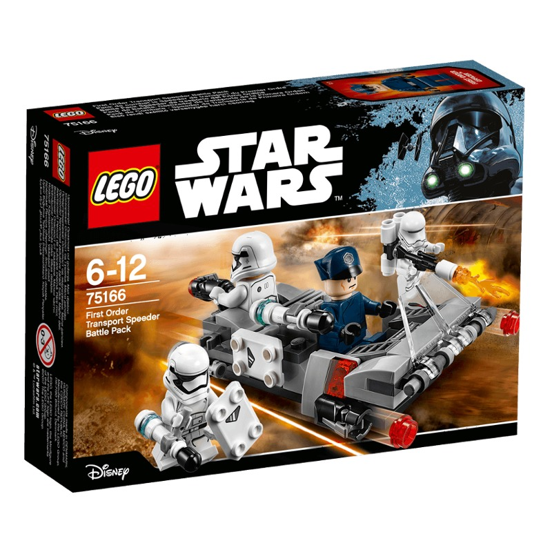 LEGO Star Wars Episode VII - First Order Transport Speeder Battle Pack - 75166 LEGO konstruktors