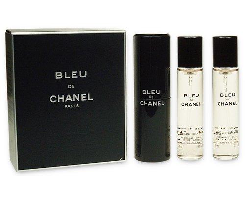 Chanel  Bleu de Chanel  EDT 3x20ml 3145891078008 Vīriešu Smaržas