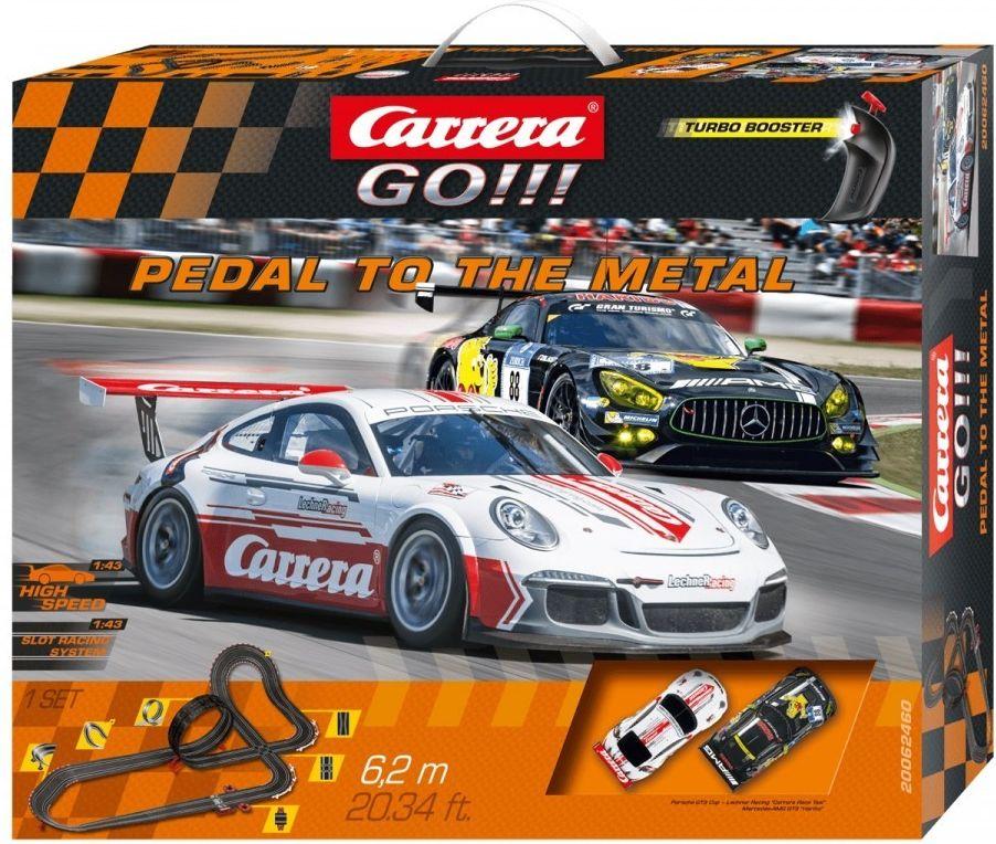 Carrera GO!!! Pedal to the Metal         62460 Rotaļu auto un modeļi