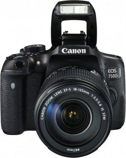 EOS 750D 18-135 IS STM  0592C032AA Spoguļkamera SLR