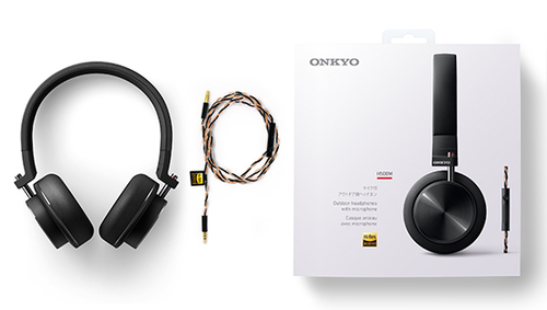 ONKYO H500M Headband Binaural Wired Black Mobile Headset (H500MB/00) austiņas