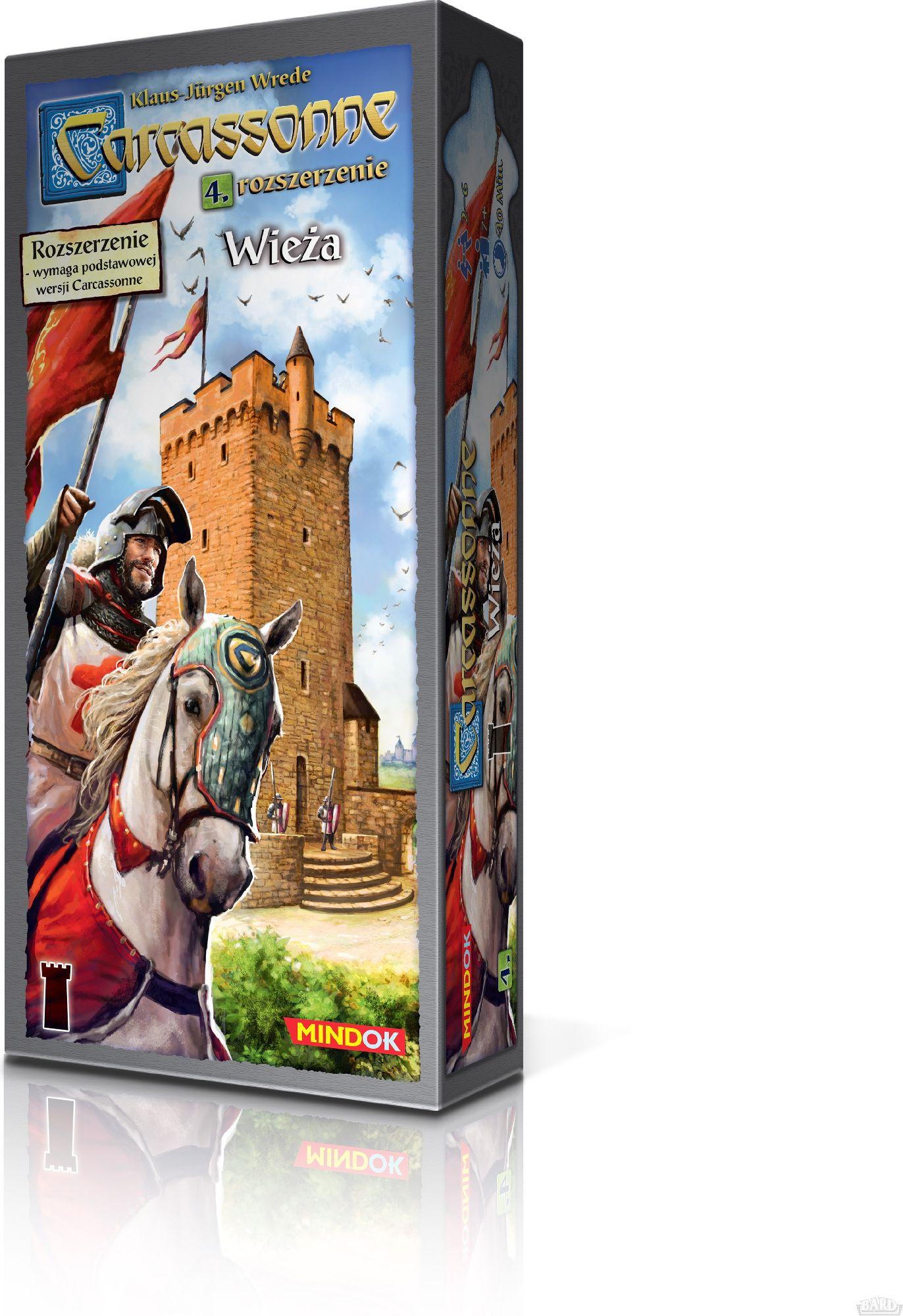 Carcassonne Tower (GXP-643611) galda spēle
