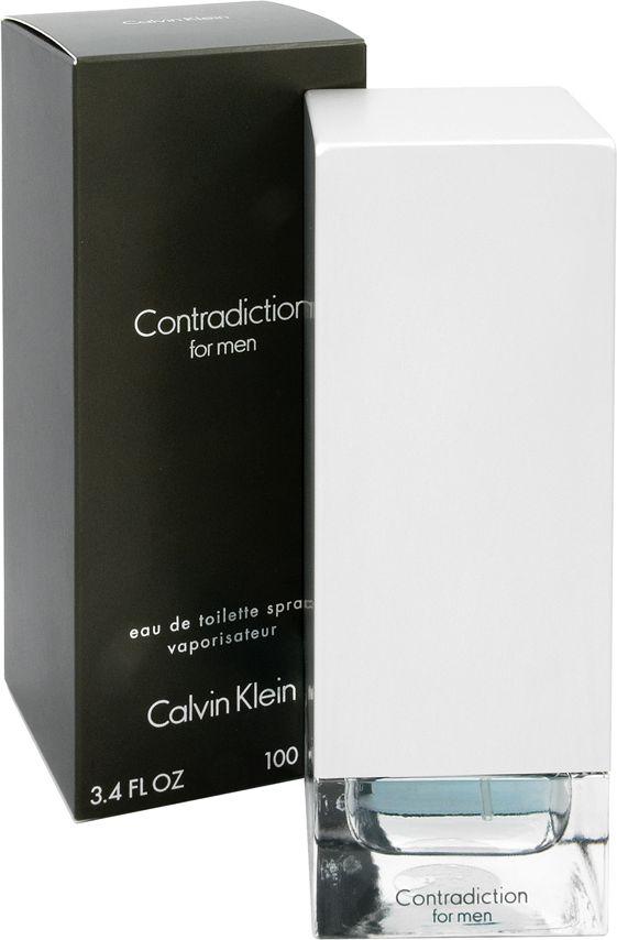 CALVIN KLEIN Contradiction EDT 100ml Vīriešu Smaržas