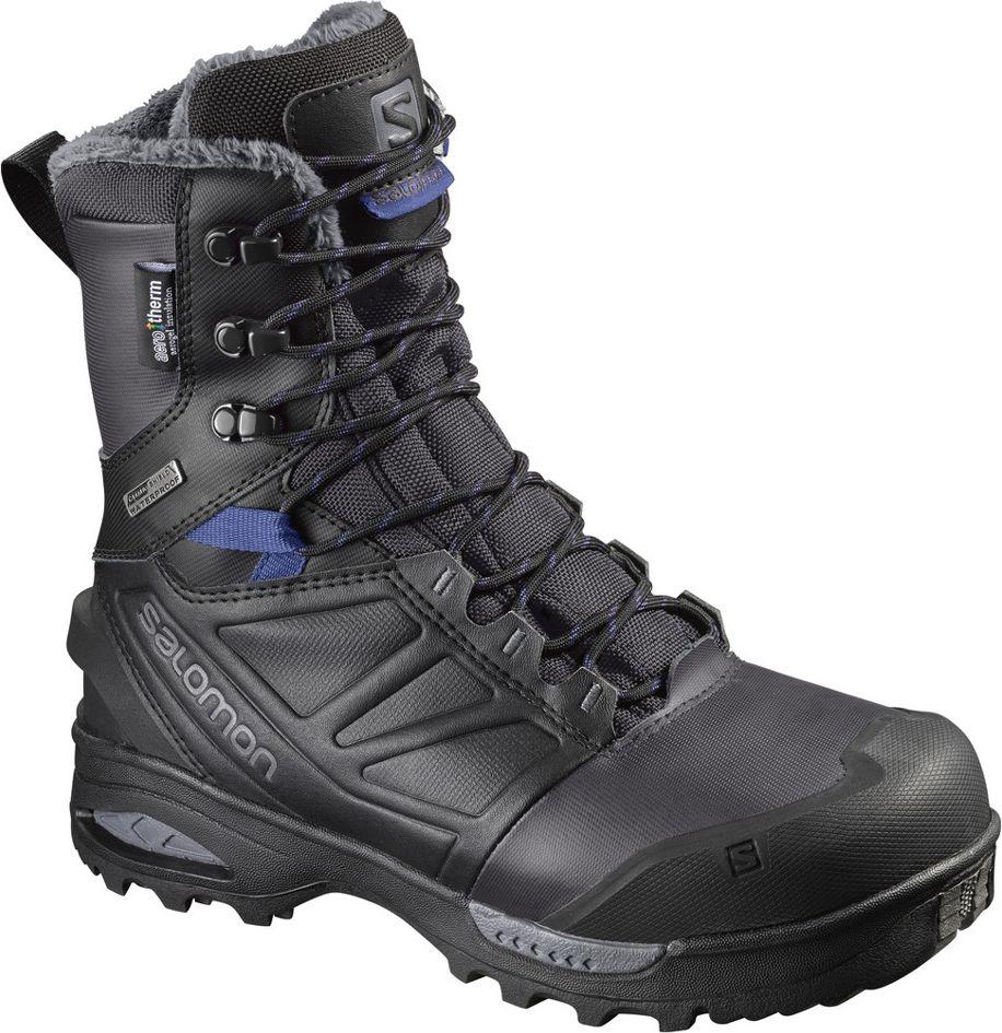Salomon Buty damskie Toundra Pro CSWP Phantom/Black/Amparo Blue r. 38 2/3 (399722) 399722