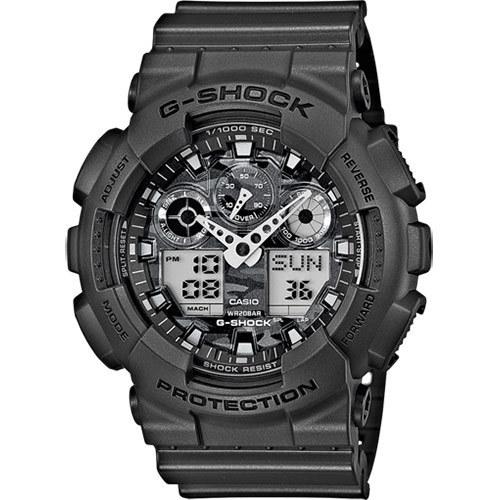 Casio Watch with G-Shock Resin Strap 51mm Men's GA-100CF-8AER Rokas pulksteņi