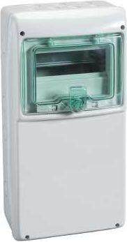 Schneider Electric Obudowa wielofunkcyjna IP65 dla wyjsc zasilacza 236 x 460mm 8 modulow (13165) 13165