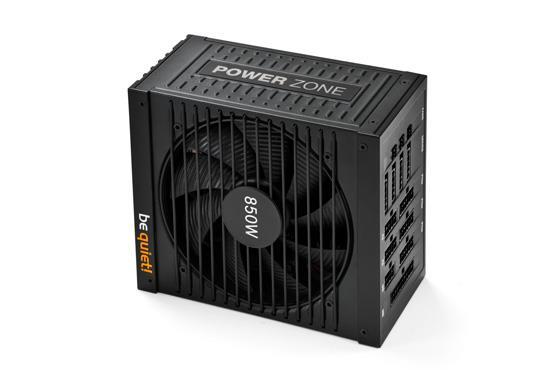 be quiet! Power supply POWER ZONE 850W 80PLUS Bronze, for gamers BN212 Barošanas bloks, PSU