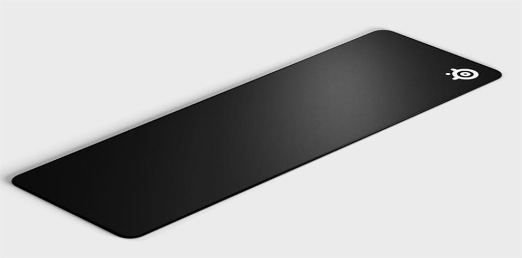 SteelSeries Gaming Mouse Pad, QcK Edge XL, Black peles paliknis