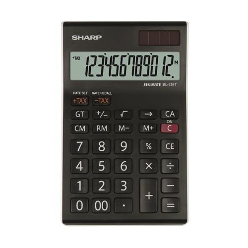 Sharp SH-EL124TWH Galda Kalkulators SH-EL124TWH