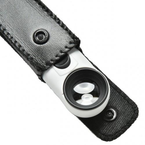 Kompakta kabatas Lupa  ar LED Apgaismojumu 40x  C41453