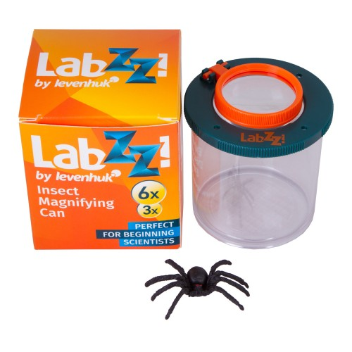 Insektu Trauks ar Palielinamo Lupu un Zirnekli Berniem Levenhuk LabZZC1 2x-3x 69716