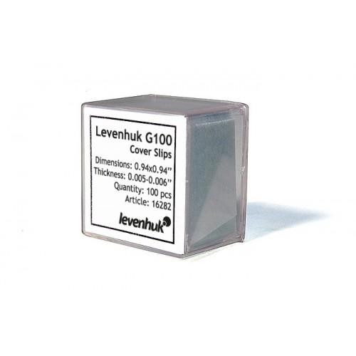 Levenhuk G100 Cover Slips, 100 gab. 16282 Speciālie produkti