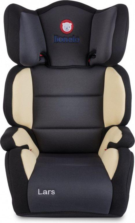 Lionelo Car seat 15-36 kg Lars Plus beige auto bērnu sēdeklītis
