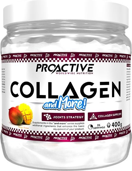 ProActive Collagen&More Mango 400g