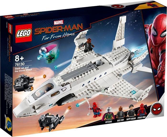 LEGO Spider-Man: Stark's Jet & the Drone. - 76130 LEGO konstruktors