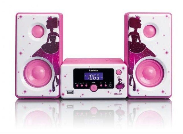 Lenco MC-020 Princess mūzikas centrs