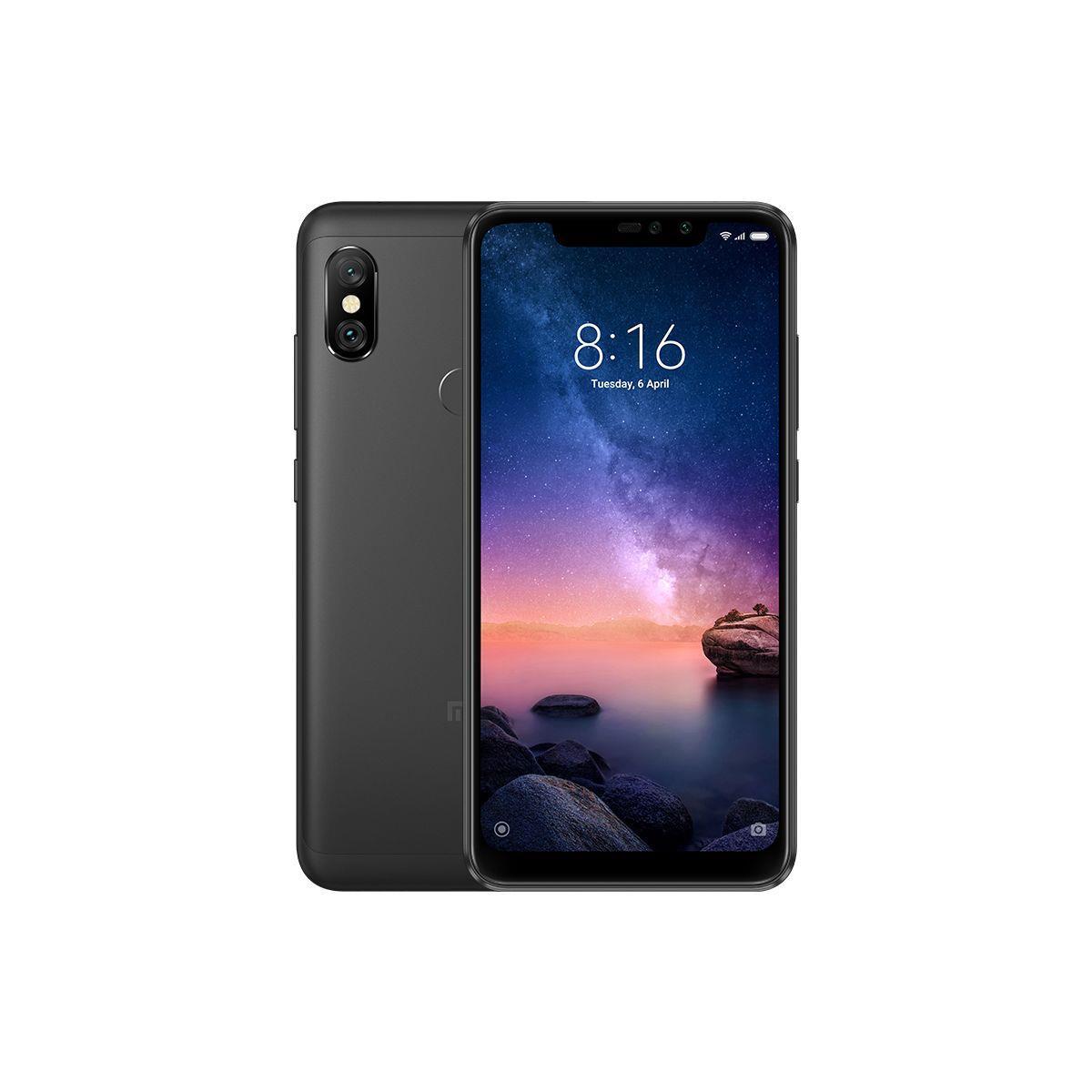Xiaomi Redmi Note 6 Pro 4GB/64GB black Mobilais Telefons