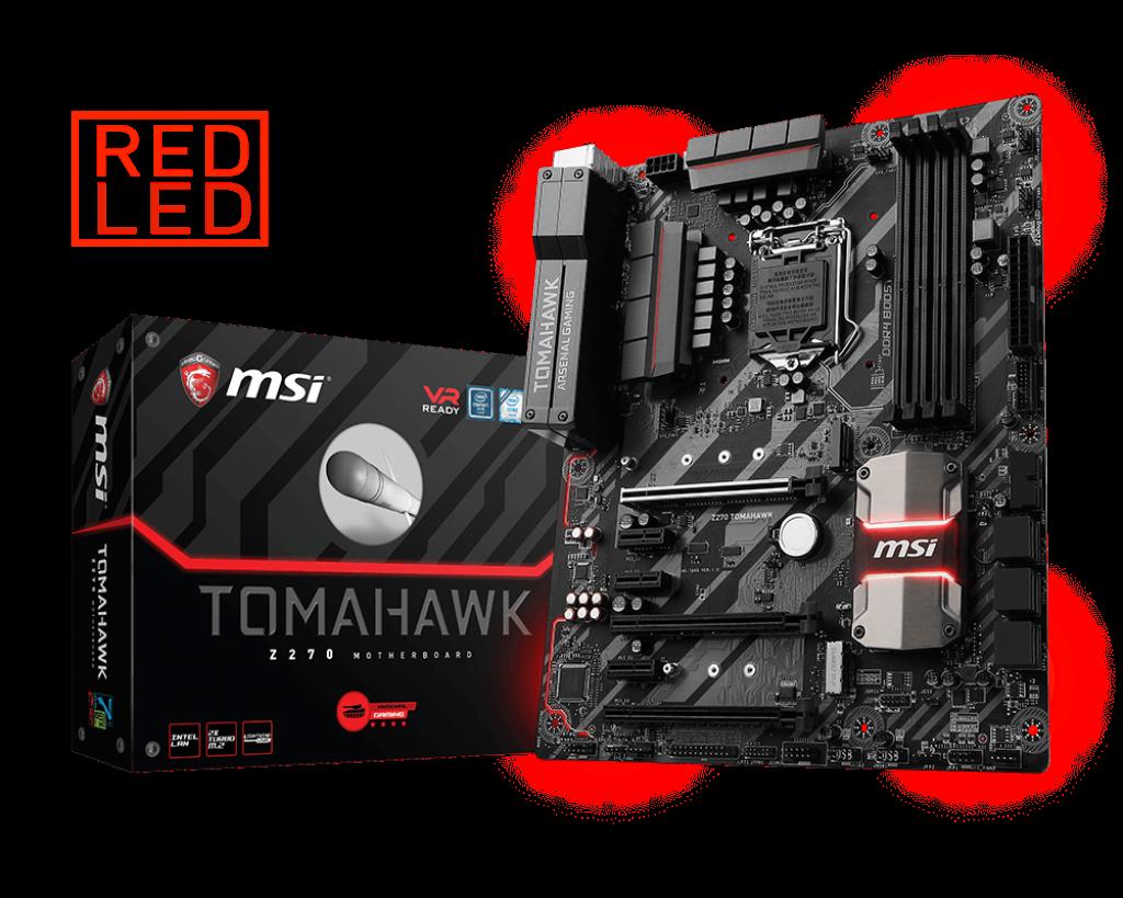 MSI Z270 Tomahawk , Intel Z270 Mainboard - Sockel 1151 pamatplate, mātesplate