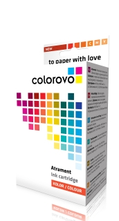 Ink cartridge COLOROVO 614-Y | Yellow | 250 pp. | Epson T0614 kārtridžs