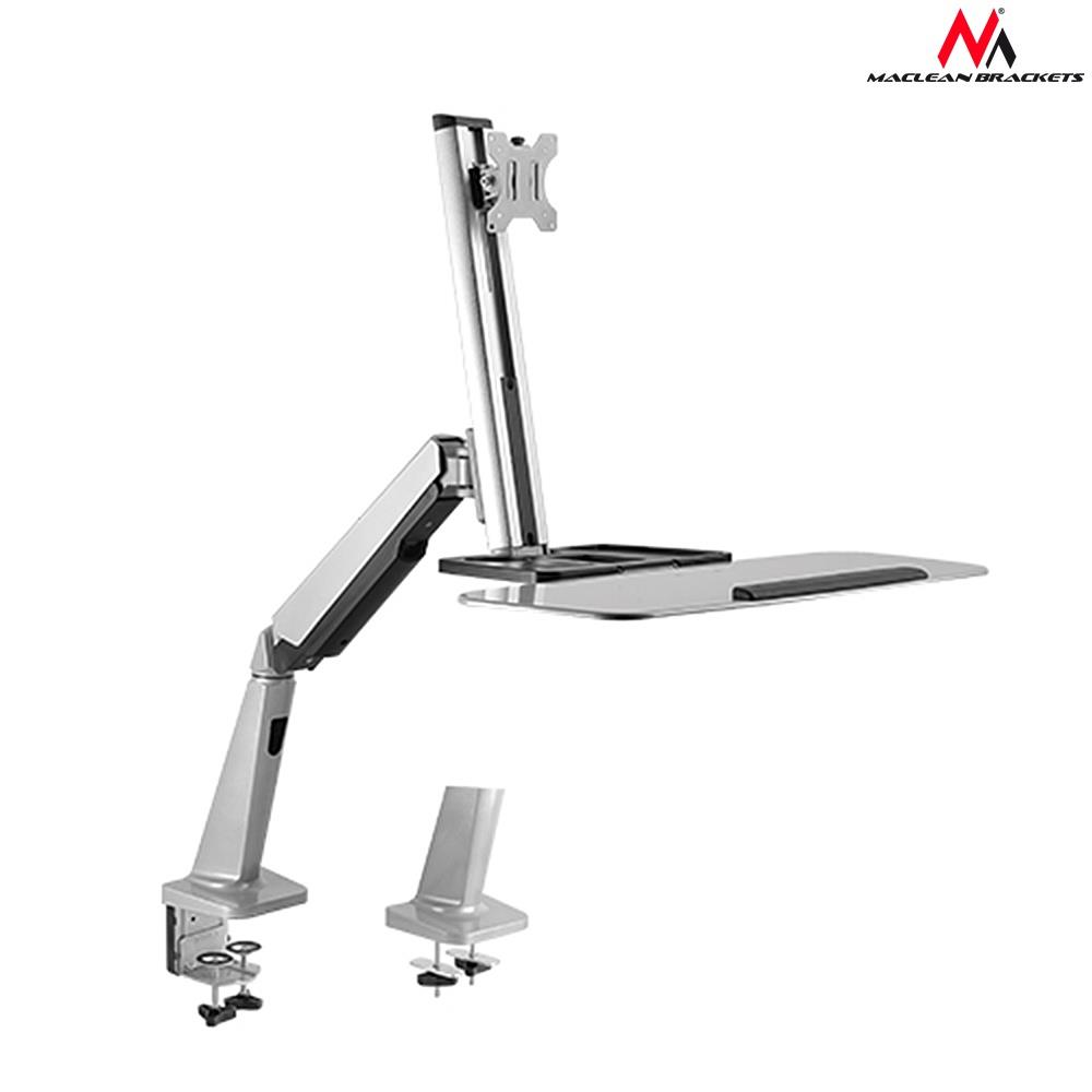 Single Display SitStand Workstation Desk MC-728