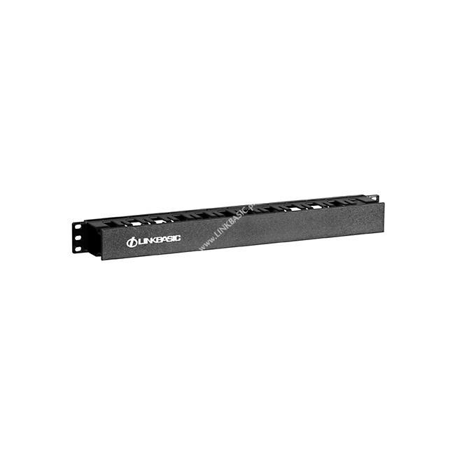 Linkbasic horizontal cable management 1U for 19'' rack cabinets Serveru aksesuāri