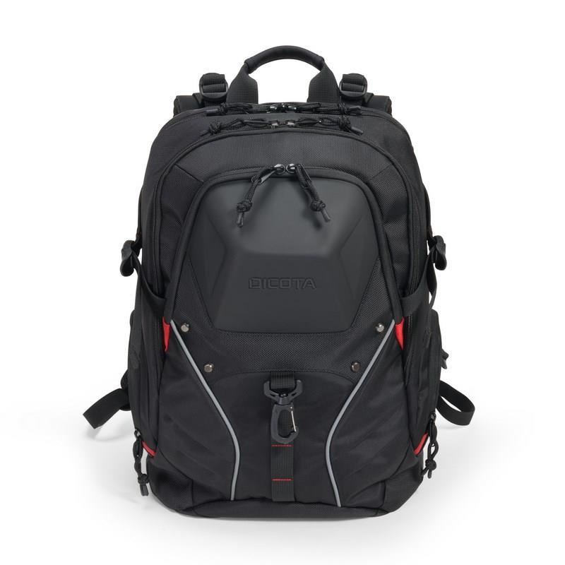 Dicota Backpack E-Sport 15-17.3'' BLACK portatīvo datoru soma, apvalks