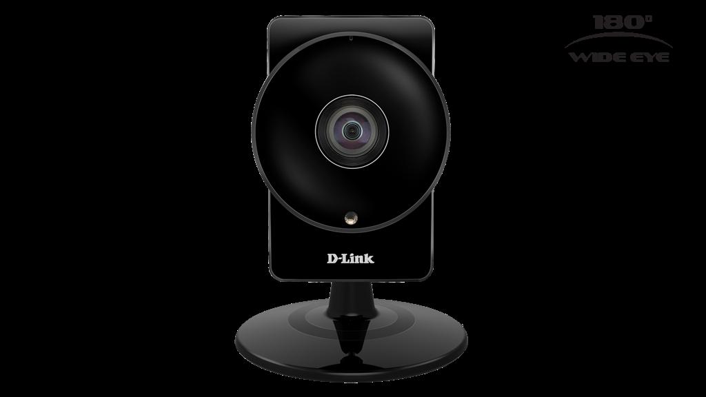 D-Link Camera IP Wi-fi  Panoram HD 180 DCS-960L novērošanas kamera