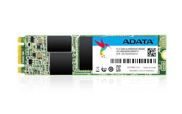 ADATA Ultimate SU800 M.2 2280 3D 256GB 560/520MB/s SSD disks