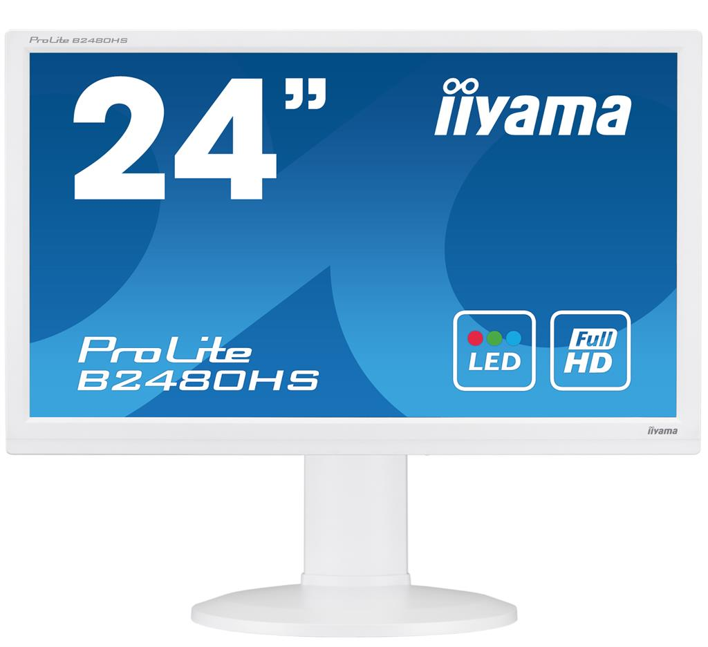 Iiyama B2480HS-W2 TN, Full HD, HDMI, speakers monitors
