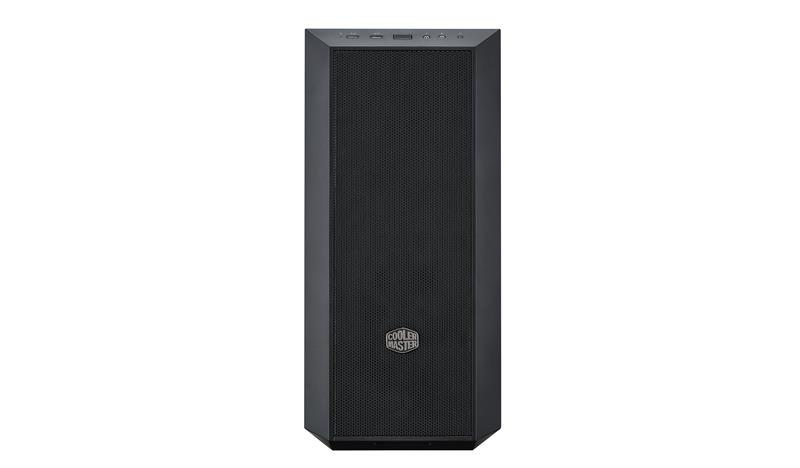 Cooler Master MasterBox 5 USB 3.0 x 2, Mic x1, Spk x1, Black, Midle-Tower, Power supply included No Datora korpuss