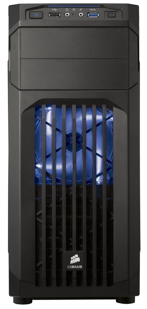 Corsair Computer Case Carbide Series SPEC-01 BLUE LED Mid Tower Gaming Case Datora korpuss