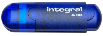 Integral USB Flash Drive 4GB EVO blue USB Flash atmiņa