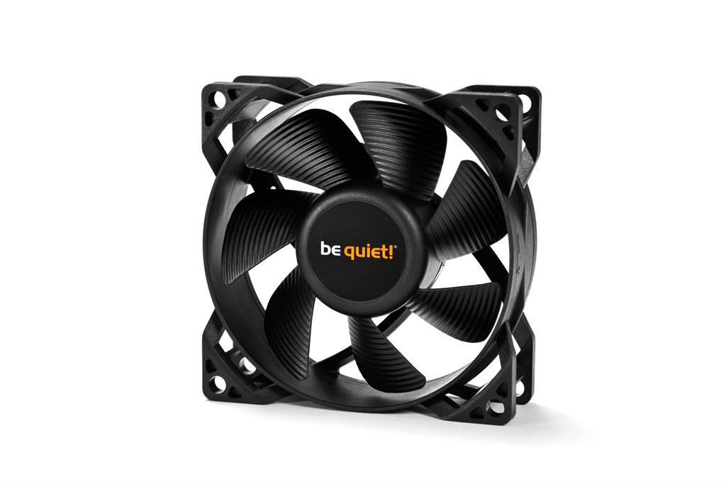 be quiet  Pure Wings 2 80mm PWM fan, 18,2 dBA ventilators
