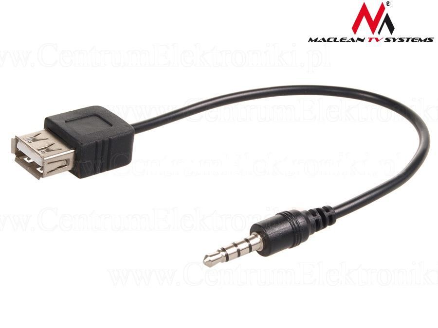 Maclean MCTV-693 Adapter jack to plug USB aksesuārs