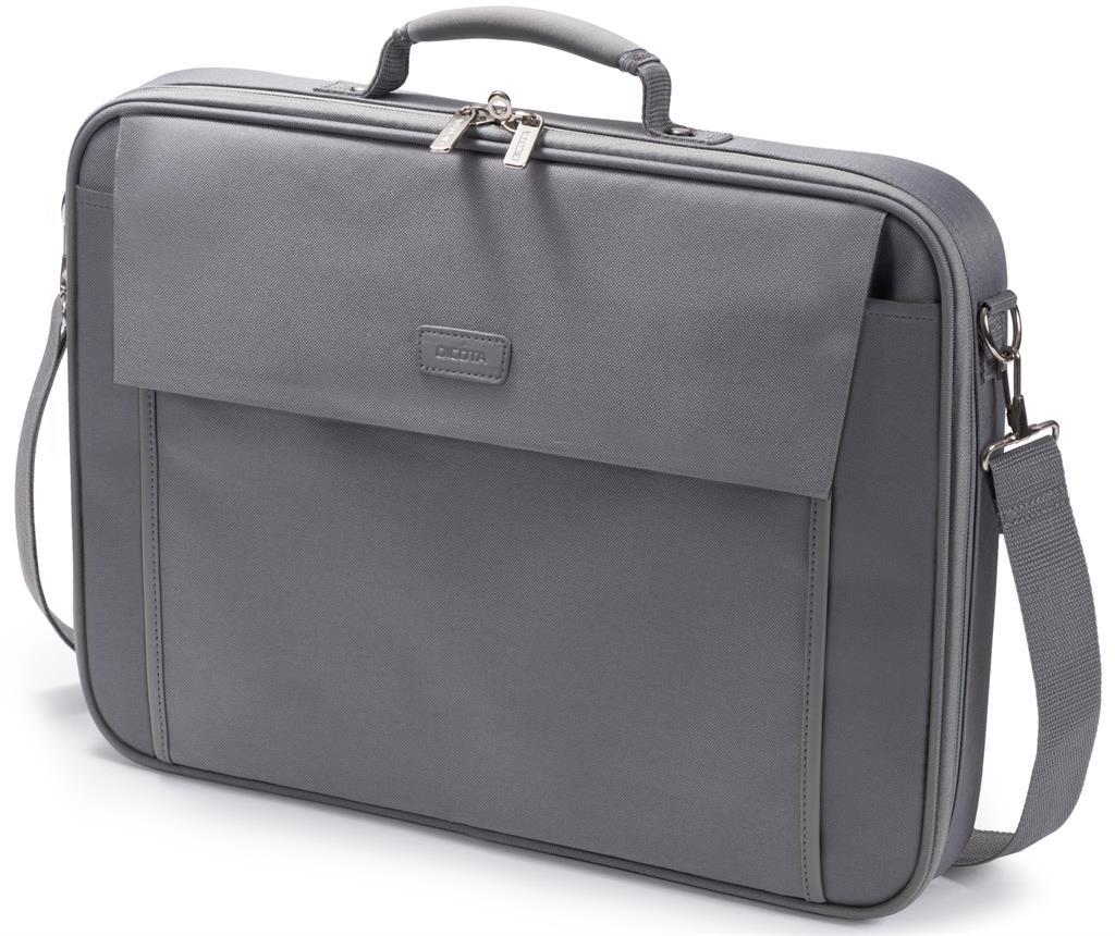 Dicota Multi BASE 14 - 15.6 Grey notebook case portatīvo datoru soma, apvalks