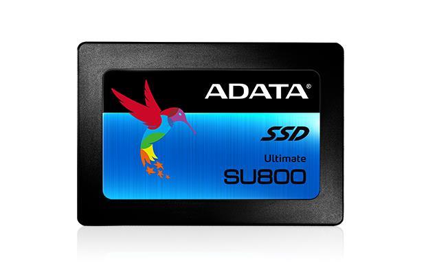 Adata SU800 SSD SATA III  2.5'' 512GB, read/write 560/520MBps, 3D NAND Flash SSD disks