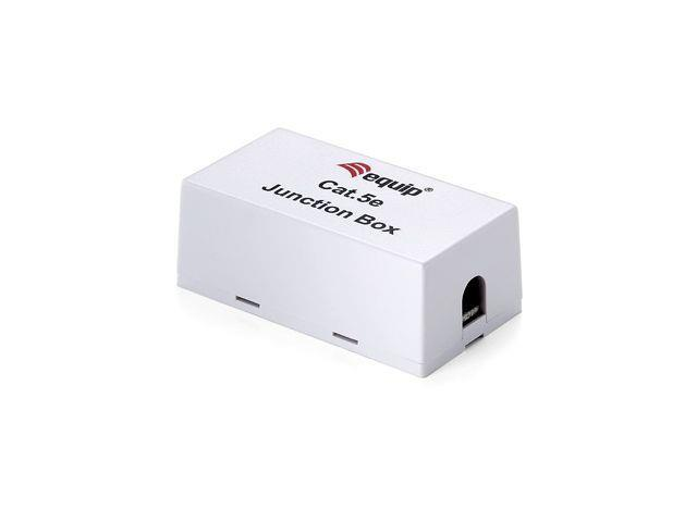 Equip junction box for cat.5E lan cable